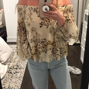 Aritzia Wilford Talance off the shoulder- XS